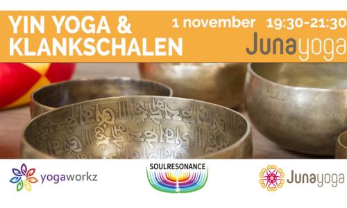 Yin Yoga & Klankschalen Juna yoga Hillegom
